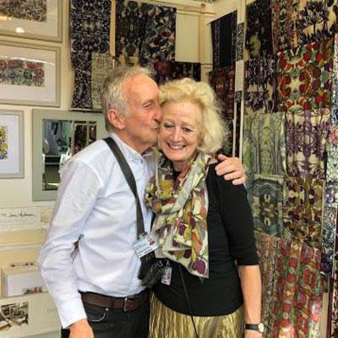 Exhibiting our Batik based designs at Chelsea Flower Show