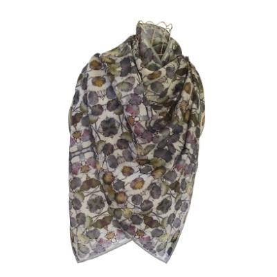 Honesty - Silk/Wool Shawl.