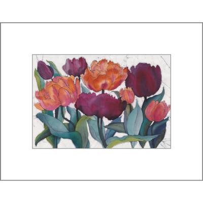 Tulips - Original Batik Painting
