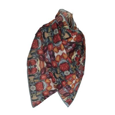 Tulip - Silk/Wool Shawl.