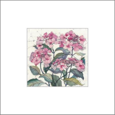 Hydrangea - Original Batik Painting.