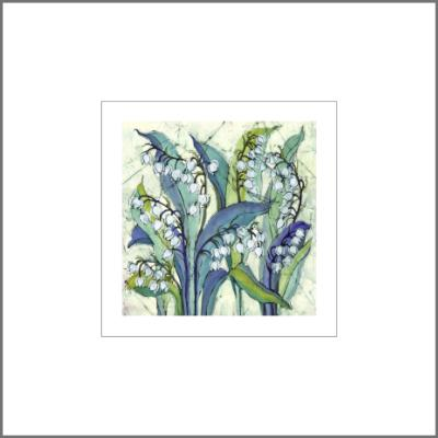 No.554 Lily of the Valley - signed Small Print.
