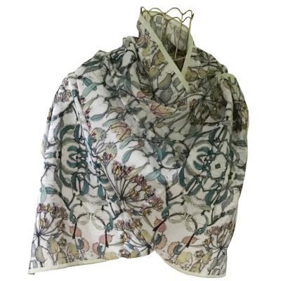Shades of Winter Silk Scarf.